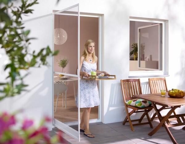 Fenster Scheibling - Insektenschutz - Drehrahmen