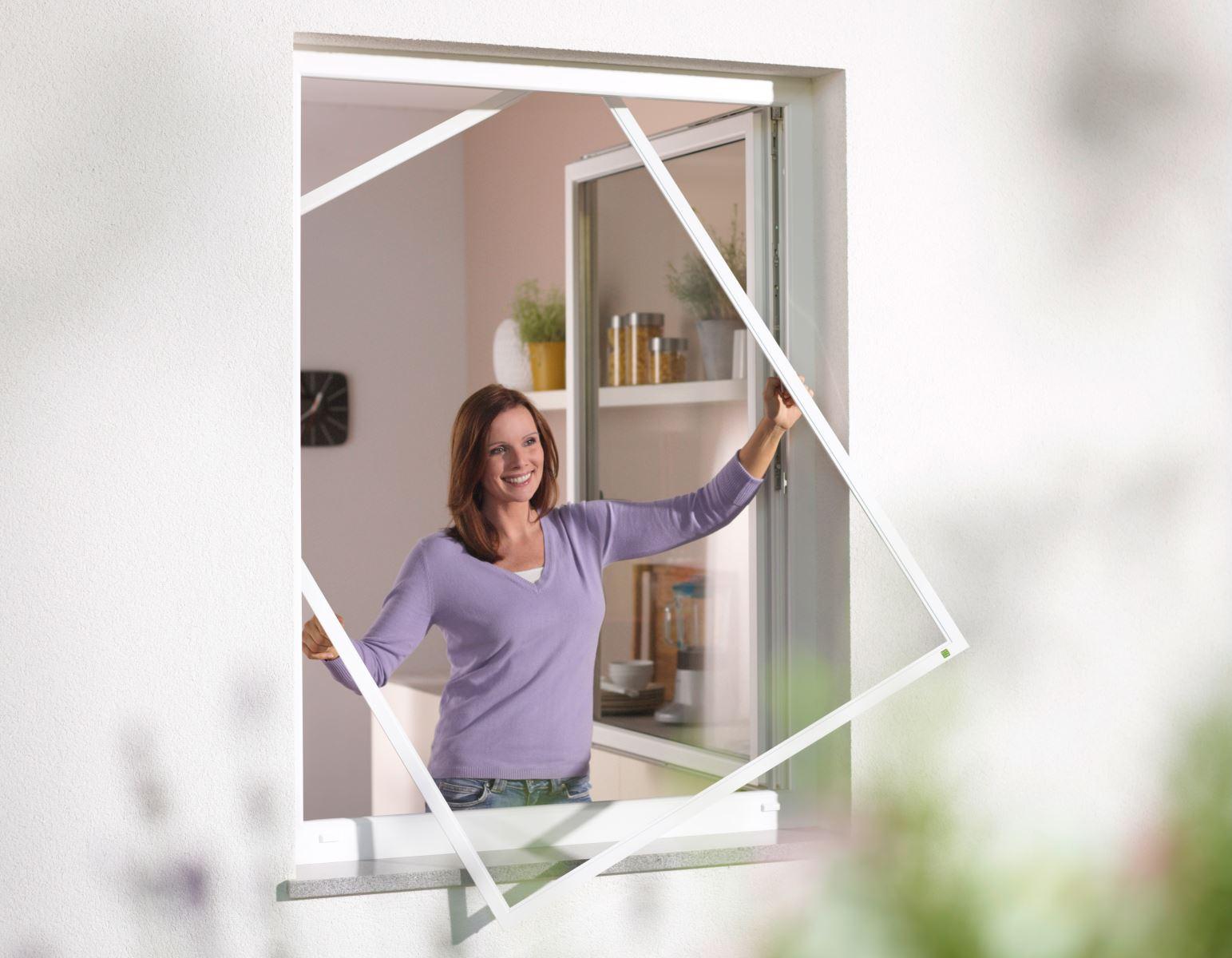 Fenster Scheibling - Insektenschutz - Spannrahmen