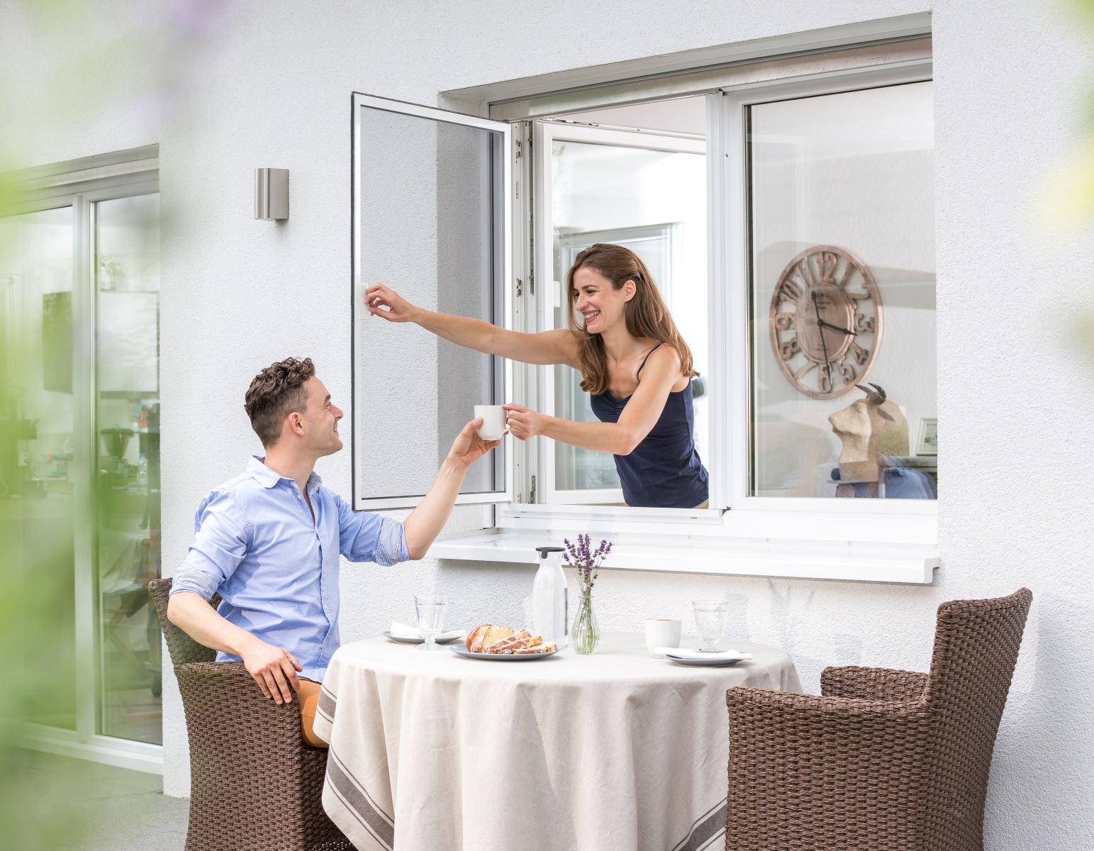 Fenster Scheibling - Züricher Oberland - Insektenschutz - Pendelfenster